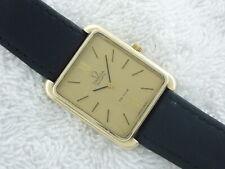 Rare OMEGA DeVILLE 1330 Thirteen Jewels 10k Quartz Gold Filled Swiss Made Watch