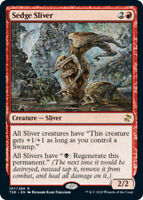 Sedge Sliver - Foil x1 Magic the Gathering 1x Time Spiral Remastered mtg card