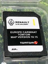 RENAULT TomTom Carminat V10.15 SAT NAV SD CARD EUROPE and UK MAP 2019 - 2020