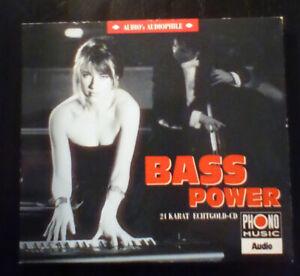 Bass Power / 24 Karat Echtgold CD (1994)