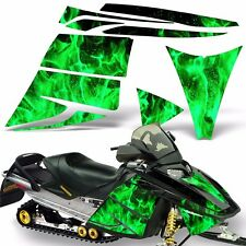 Decal Graphic Kit Ski Doo Rev Skidoo Sled Snowmobile Sticker Wrap 03-09 ICE GRN