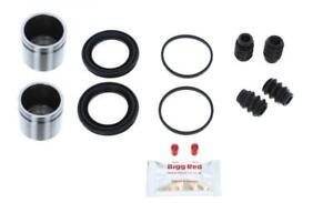 CHEVROLET LACETTI 2003-20 FRONT L & R Brake Caliper Seal Kit +Pistons (BRKP500)