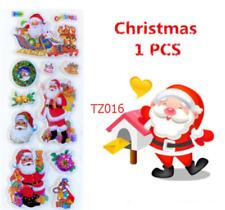 Christmas gift Santa Claus stickers kids party kids craft Teacher rewards 1PCS