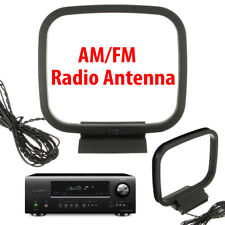 New listing Black HiFi Am/Fm Loop Antenna with 3Pin Connector for Sony Receiver Audio System