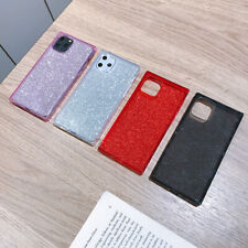 Women Glitter Square Soft Soft Phone Case Cover For iPhone11Pro XsMax 8Plus XR
