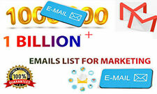 1Billion+  Business  Emails List for Marketing,in  USA and Globally  by Experts