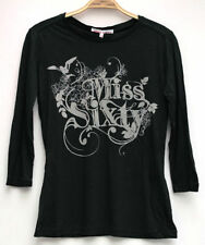 MISS SIXTY LONG FOSTER BIRD L/S TEE T-SHIRT, SIZE XS, BRAND NEW WITH TAGS