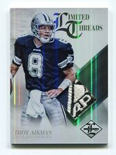 Troy Aikman Limited Threads APEX ONE Prime Jersey Coat Patch Dallas Cowboys 1/1