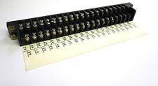 KEL CORP. TERMINAL STRIP, 40 POSITION, 7070 040 168