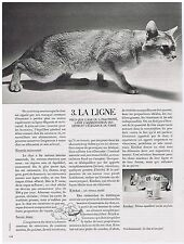 PUBLICITE ADVERTISING 054 1972 KITEKAT aliment pour chat La Ligne
