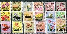 FIORI - FLOWERS CONGO (KINSHASA) EX BELGIAN CONGO 1960