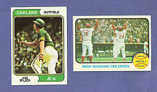 you pick any, lot of 30 cards fr 1973 (w/ high #s!) +/or 1974 Topps Baseball set