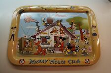 Vintage Walt Disney Mickey Mouse Club Mouseketeers Pluto TV Dinner Tray Rare