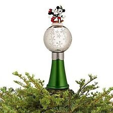 DISNEY STORE SHARE THE MAGIC 2011  MICKEY & MINNIE TREE TOPPER-NEW