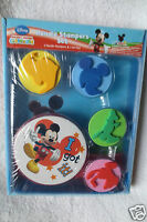 Disney Mickey Mouse Club House Handle Stampers Set New