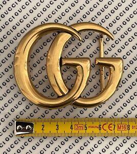GUCCI FIBBIA DOPPIA G GRANDE ORO BIG BUCKLE GUCCI GOLD