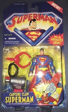 Superman Animated Series Capture Claw Superman With Villain Snare Launcher