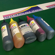 5x Dye Printer Refill INK (Lubrink) Fits Canon Pixma MG5750 MG5751 MG7750 MG6850