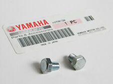 Yamaha SMOOTH JIS HEX HEAD BOLTS size m6x10mm / 6mm x 10mm CLEAR ZINC m6xm10