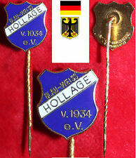 Fußball Football Anstecknadel DFB WESER-EMS  BLAU-WEISS HOLLAGE 1934 e.V.