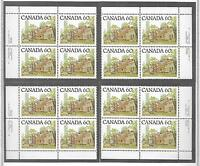 pk23872:Stamps-Canada #723C Ontario Street 60 cent PL 1 Set of Plate Blocks-MNH