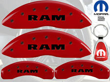 MGP Caliper Cover Black Fill on Red Paint For 2006 - 2009 Dodge Ram 1500