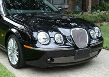 Lower Bumper Mesh Grille Kit for Jaguar S-Type 2005 2006 2007 Bright Stainless