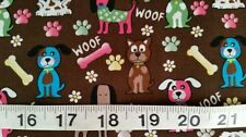 "By the Metre Animals & Insects Unbranded 60"" Craft Fabrics"