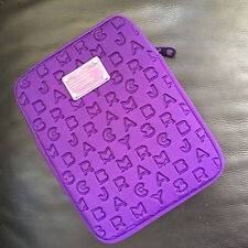 Marc by Marc Jacobs Purple Dreamy Logo tablet protective sleeve case zipper bag