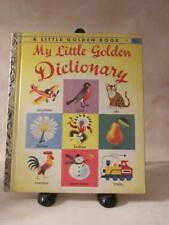 A Little Golden Book My Little Golden Dictionary 1949 Fantastic Book 56 pages