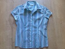 Damen Bluse, Kurzarmbluse, Shirt Gr. 36 Street One