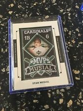 2003 UD PATCH COLLECTION MVP PATCH STAN MUSIAL MVP-20
