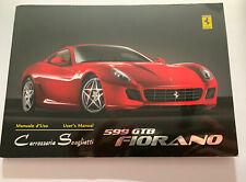 Ferrari 599 GTB Users Manual