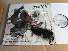 VEE VV - LIFE, LIBERTY, AND THE PURSUIT OF HAPPINESS - LP - PAYLP1 - UK (DI926)