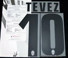 Juventus Tevez 10 2013/14 Football Shirt Name/Number Set Kit Away Serie a