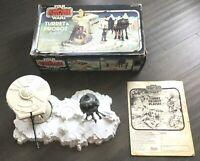 Vintage Star Wars ESB Hoth TURRET & PROBOT PLAYSET - 1980 Kenner With Box