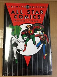 DC Archive Editions ALL STAR COMICS Vol.0 Hardcover Sealed