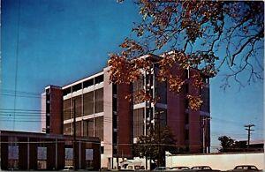 Vintage 1950's City Hall Building in Lafayette Louisiana LA Postcard