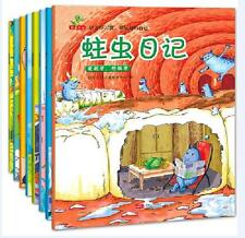 8 books good habit Chinese classic bedtime picture book learning Chinese for kid