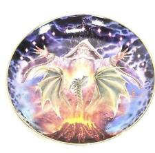 Franklin Mint Dragon Rising by Myles Pinkney Collectors Dragon Plate