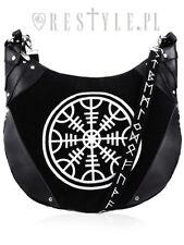 fd9e04713617 Restyle Runes Hobo Punk Emo Goth NuGoth Rocker Helm Of Awe Handbag Purse Bag