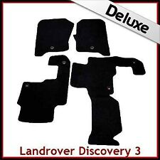Landrover Discovery 3 Tailored LUXURY 1300g Car Mat 1 Clip