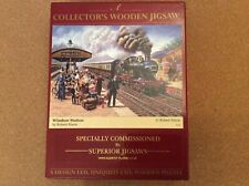 "250 PCS. WOODEN WENTWORTH  PUZZLE "" WINDSOR STATION"""