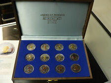 American Patriots 12-Coin Gold & Silver Set - Letcher Mint