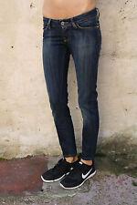 """MELTIN 'POT jeans """"Marlyne"""" Femme Bleu Denim Slim Coupe Extensible W27 L27 UK10 Délavé"""