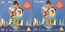 AROUND THE WORLD IN 80 DAYS - 2 DISCS - PARTS 1 & 2 - MAIL ON SUNDAY PROMO DVD