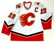 JAROME IGINLA CALGARY FLAMES REEBOK AUTHENTIC 2006 NHL GAME JERSEY SIZE 54  NEW e571af311