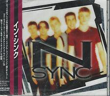 *SEALED* NSYNC Japan Import Self-Titled CD 1997 Justin Timberlake Joey Fatone