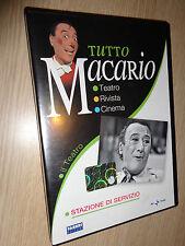 DVD TUTTO MACARIO IL TEATRO STAZIONE DI SERVIZIO