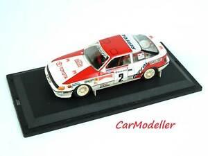 Trofeu Toyota Celica GT4 Carlos Sainz 1991 Monte Carlo Rally 1:43 diecast #025